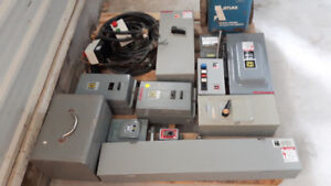 Used Miscellaneous Motors and Electrical Panels - REF# 1697BM