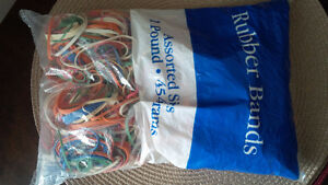 New Rubber Bands - for sale ! Kitchener / Waterloo Kitchener Area image 1