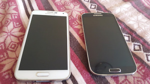 FOR PARTS--Samsung Galaxy S4-$50 and S5-$60