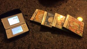Nintendo Gameboy DS Lite, case and games