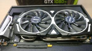 MSI GEFORCE GTX 1080 TI ARMOR 11G $900