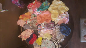 Baby girl clothes 0-6 summer clothing