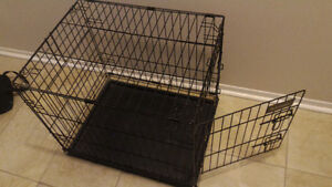 """Dog cage **small** 24"""" x 19"""" x 21"""""""