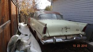 1956 dodge regent and 56 plymouth savoy
