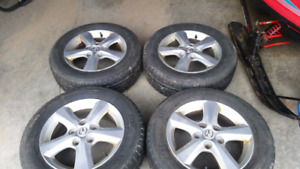 195/65R15 tires and rims
