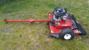 """Swisher 44"""" Tow Behind Mower - Low Hours"""