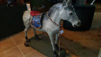 antique 1940 horse from Eatons store
