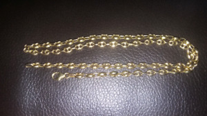 MENS GOLD GUCCI LINK NECKLACE