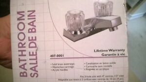 Two handle lavatory faucet - new in box