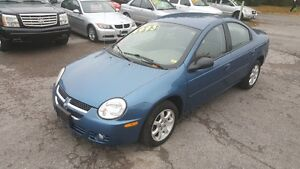 2005 Dodge SX 2.0 SEDAN *** LOW LOW KM *** CERT $4995 Peterborough Peterborough Area image 1