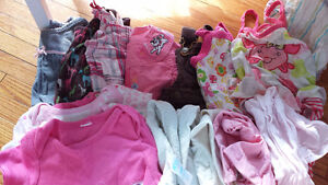 Oops! It was a boy! Lot of 0-3 & 3-6 month baby girl clothes