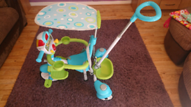 V-tech 5 in 1 stroll and grow trike