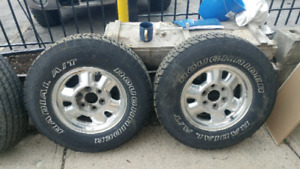04 gmc tires and rims