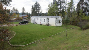 1/2 acre with mobile home