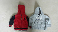 2 Hoodies Air Jordan and Children's Place