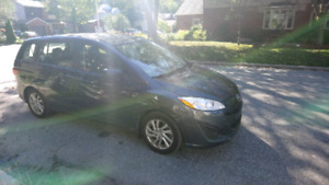 2012 mazda 5.  90k.  Mag wheels.  No accident or rust or scratch