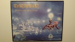 Iron Maiden Framed Poster