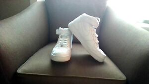 Nike Air Force 1 all white, size 9.5