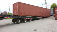 Shipping and Storage Containers Available for Sale - 40' and 20'