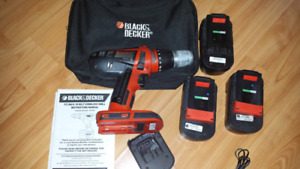 AS GOOD AS NEW BLACK AND DECKER DRILL MACHINE