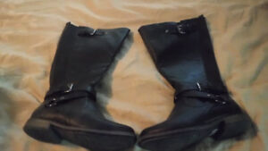 Tall Black boots Never worn ~ new condition