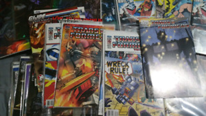 Transformers comic colection