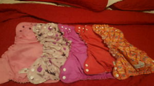 Applecheeks cloth diapers and pants