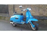 LAMBRETTA GP 125 SERIES 5 AUTOMATIC CUSTOM BUILT