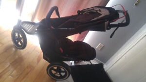 Phil & Teds Navigator double seat stroller.