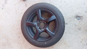PRICE REDUCED! Summer & winter tires, rims and floor mats