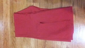 Size 7/8 red boot cut dress pants Peterborough Peterborough Area image 2