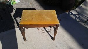 Antique Bench/Footstool