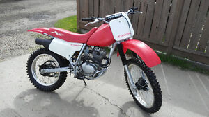 2001 Honda XR 200 Dirt Bike for Sale or Trade for a Quad
