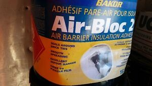 BAKOR Air-Bloc 21 air barrier insulation adhesive