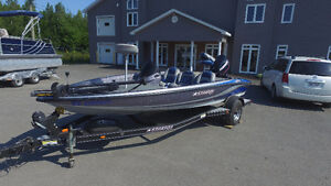 2008 Stratos Bass boat