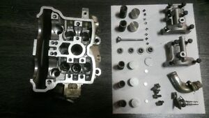 YAMAHA YZ250F yz 250f 02  head cylindre domage ++ part #1