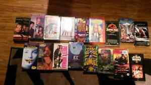 Lot of 17 VHS Movies