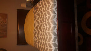 Double Bed set for sale- Sleigh Bed