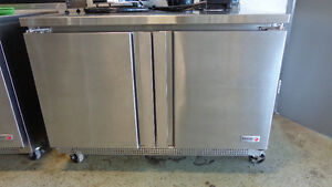 2 Sushi Display Coolers & 3 SS Fridge Coolers, Excell Auctions
