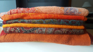 Scarves, pashminas and shawls for sale!