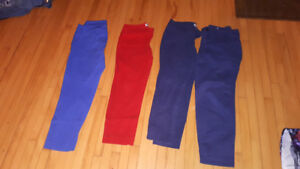 4 pairs old navy jeans