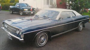 1968 ford fairlane 37k original miles