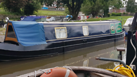 NARROWBOAT 4 BERTH WITH CURRENT SURVEY AND MOORING POSS P/X