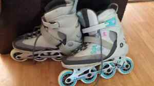 Woman's size 10 rollerblades