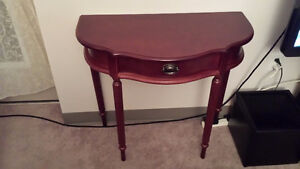 Half Moon Table (Half Circle)- Legs are Removable