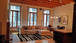 Condo For Rent In Historic Building The Heart Of Old Montreal