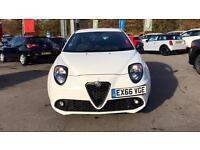 2016 Alfa Romeo MiTo 1.4 TB MultiAir 170 Veloce TCT Automatic Petrol Hatchback