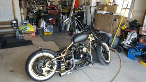 1972 Harley Davidson Bobber