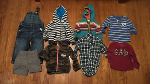 Box of 18 Month Boy Clothes