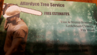 Allardyce Tree Service/Stump Grinding